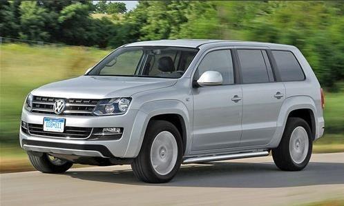 大众研发中型SUV 平台基于全新帕萨特图片