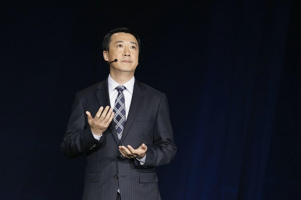 一汽-大众奥迪销售事业部执行副总经理葛树文先生致欢迎辞