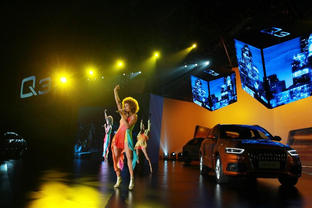 欧洲R&B音乐天后、2012年欧洲杯主题曲演唱者Oceana激情献唱