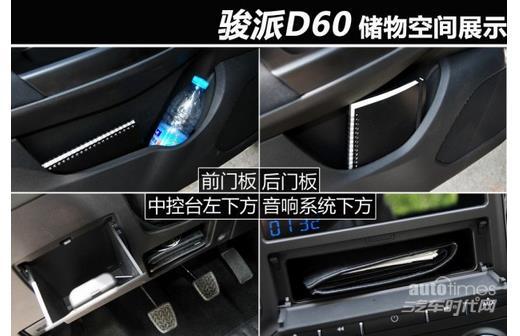 来自小型SUV的实惠 骏派D60对比瑞风S3