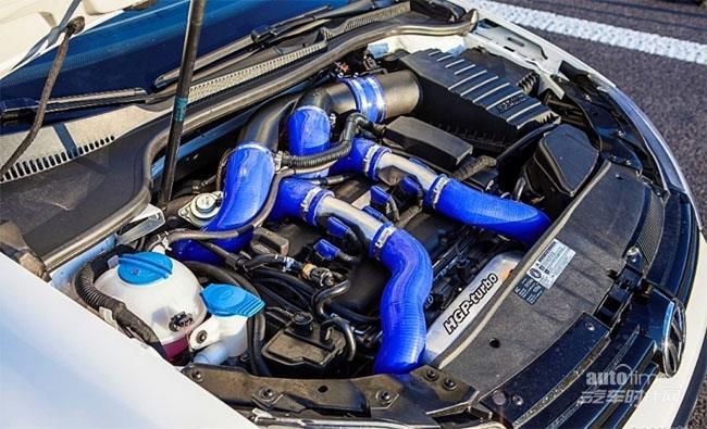745HP高尔夫R百里加速胜法拉利458