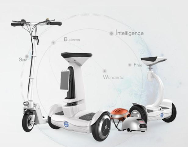 爱尔威airwheel轮式机器人:你的私人管家