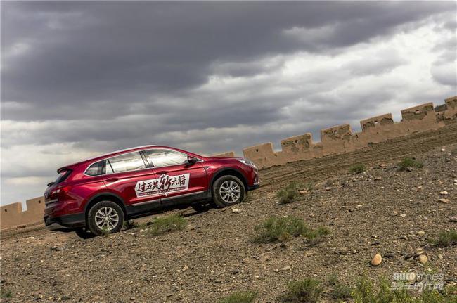 高性价比SUV首选 2017款北汽幻速S6 CVT嘉峪关试驾