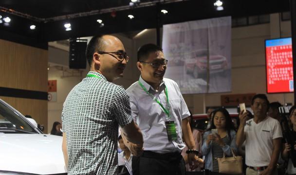 力帆汽车迈威2016昆明国际车展正式上市