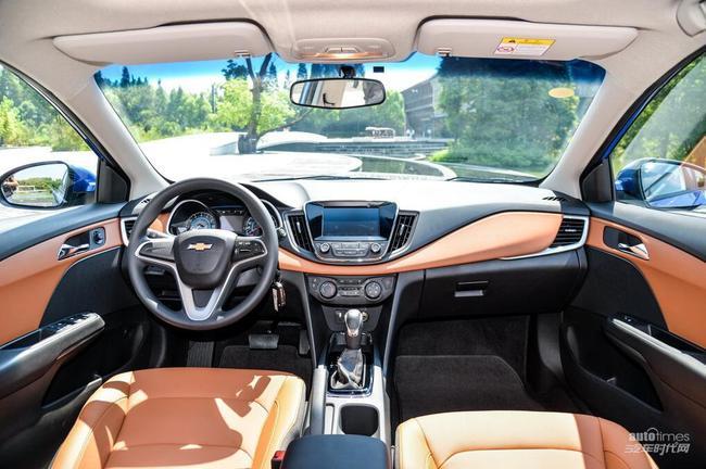雪佛兰科沃兹实车发布 于成都车展上市图片