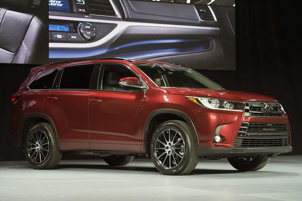 丰田汉兰达最新价格SUV火热销售汉兰达7座现车降价促销