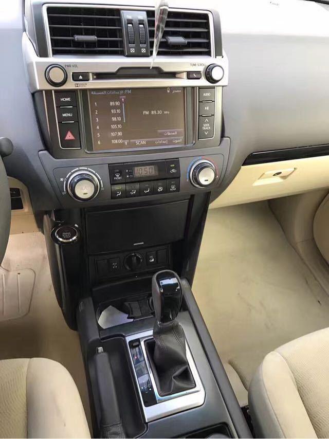 17款丰田霸道4000中东版一键启动裸利速提