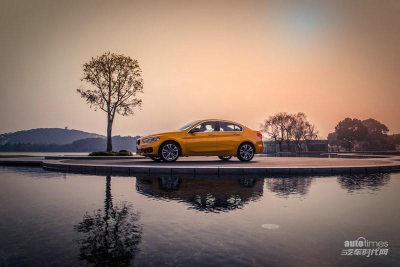 全新bmw 1系运动轿车风景试驾体验