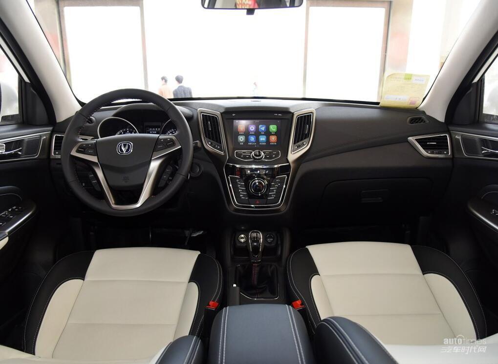 新款长安CS35明日上市 或匹配6AT变速箱