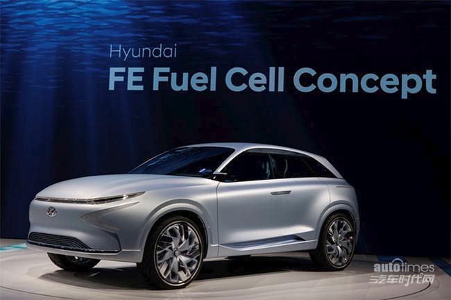 高能科技范儿 现代汽车亮相2017日内瓦车展