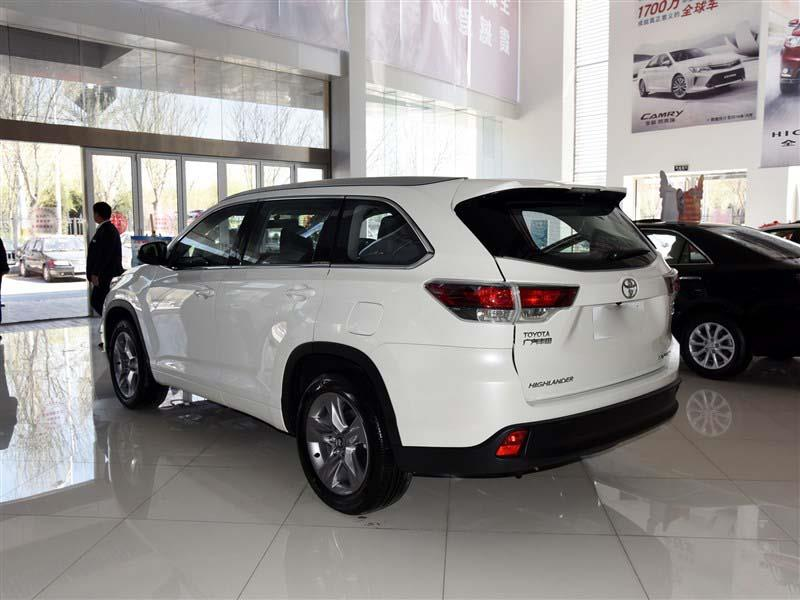 7座丰田汉兰达现车降价售全国团购活动