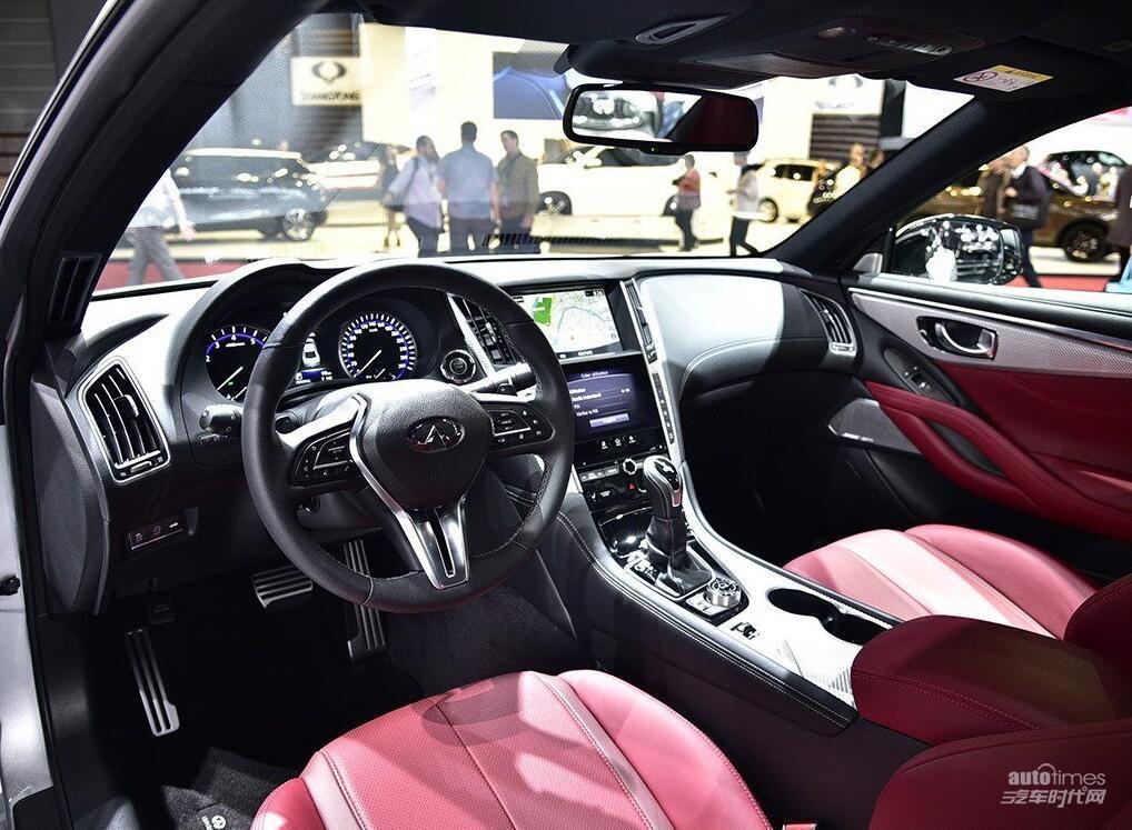 全新英菲尼迪Q60于4月初上市 预售45万起