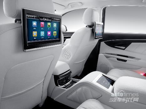 北汽新能源EH300上市 开创纯电动行政级商务座驾时代
