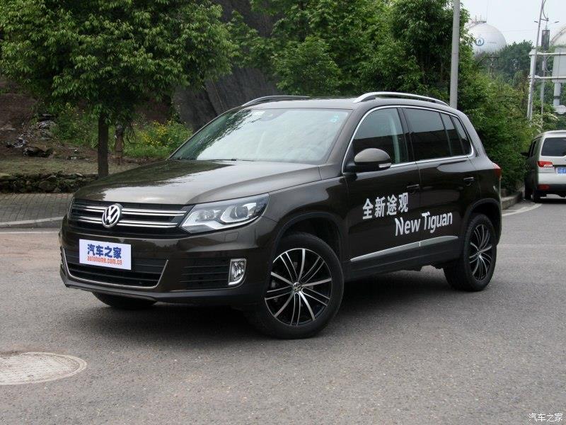 上海大众途观SUV最新报价16款途观最便宜图片