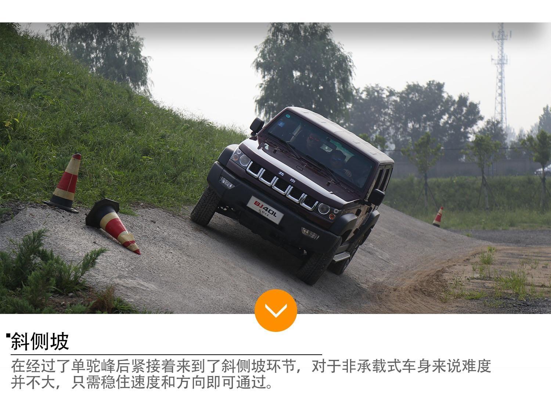 爱上硬汉 北京BJ40L、BJ80简单越野体验