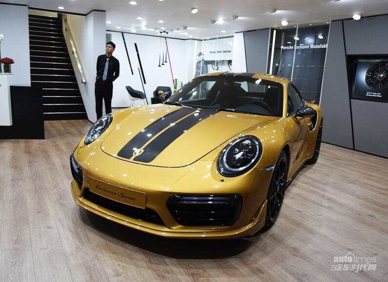 2017成都车展:保时捷911特别版首发