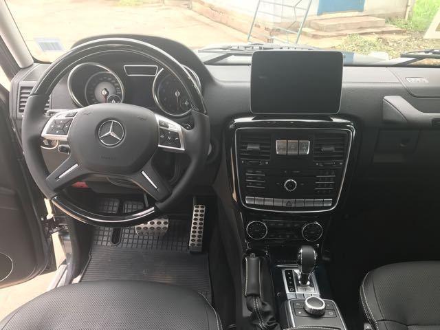 17款奔驰G500传说中的大G三把差速锁多少钱现车免预定