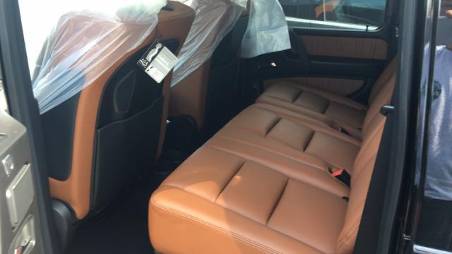 17款欧规奔驰G550天津港现车优惠报价实现越野梦