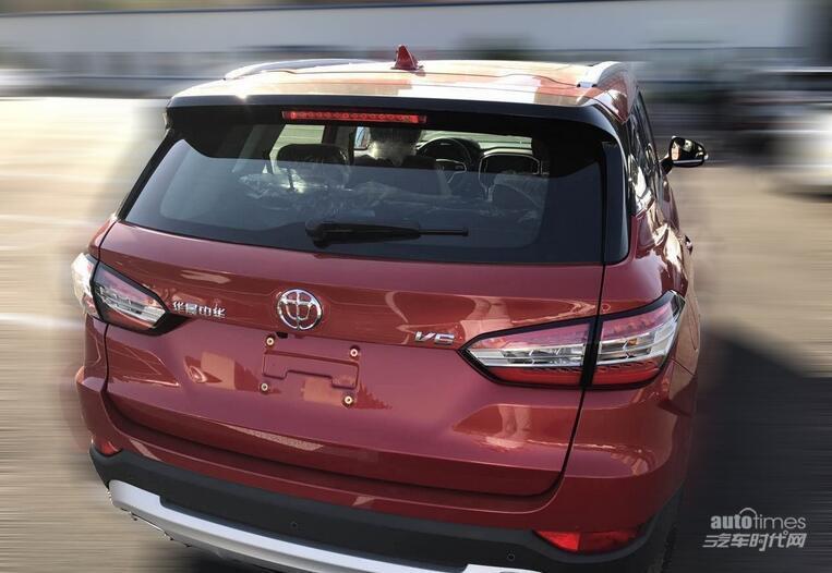 中华V6无伪装谍照曝光 定位紧凑型SUV