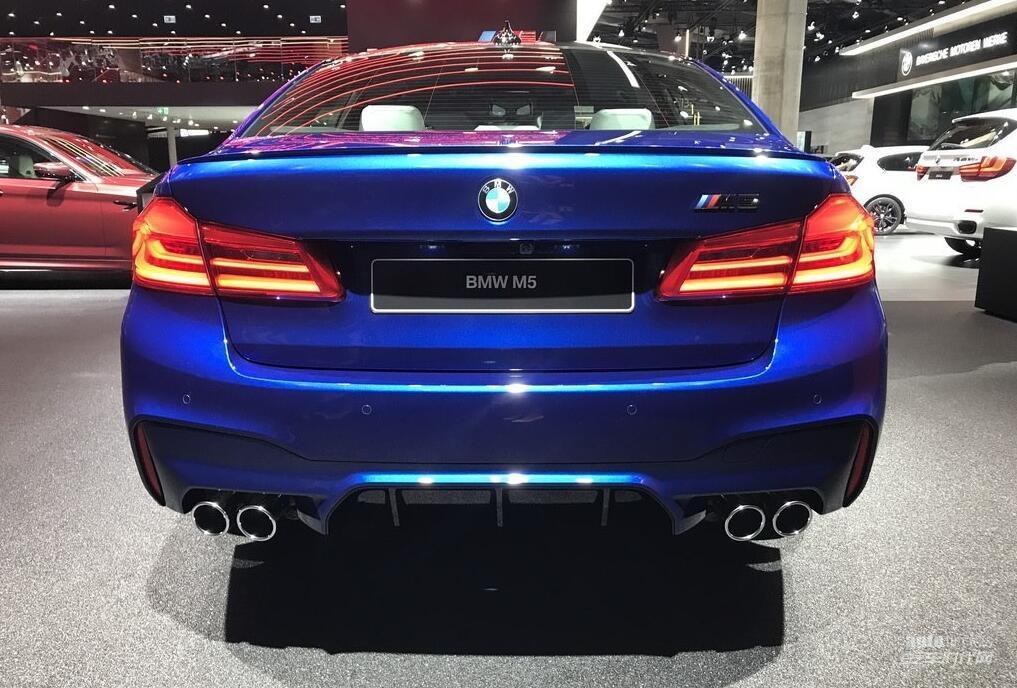 2017法兰克福车展探馆:全新宝马M5