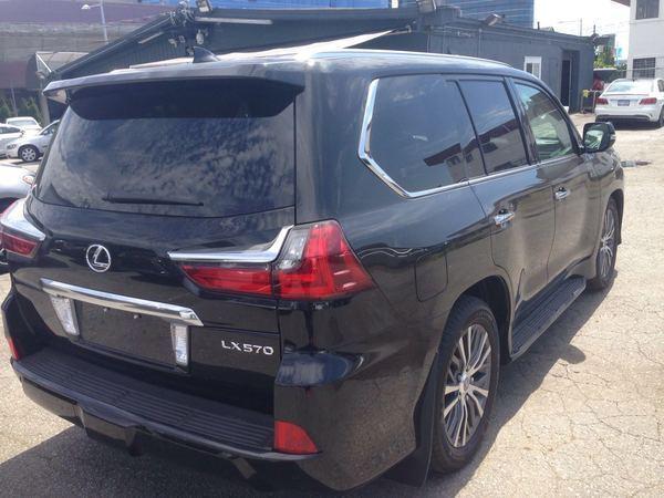 雷克萨斯LX570中东版10月港口特惠全场促销