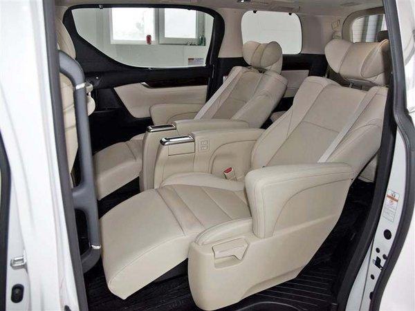 2018款丰田阿尔法7座商务车价格优惠图片