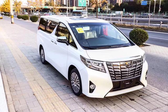广州车展18款丰田埃尔法七座商务法保姆车价格【