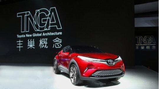 """首款TNGA SUV定名""""IZOA奕泽"""",一汽丰田新车导入将加快"""