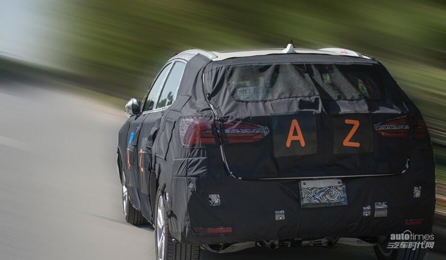 曝荣威纯电动SUV车型谍照 或2018年上市