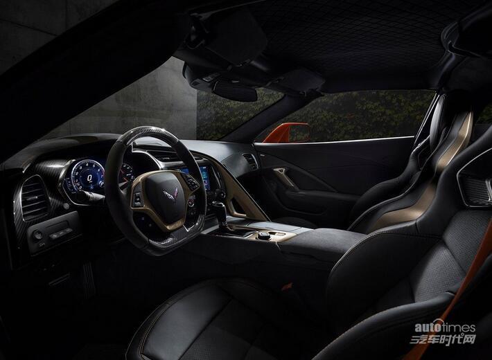 766马力!全新科尔维特ZR1实车正式发布
