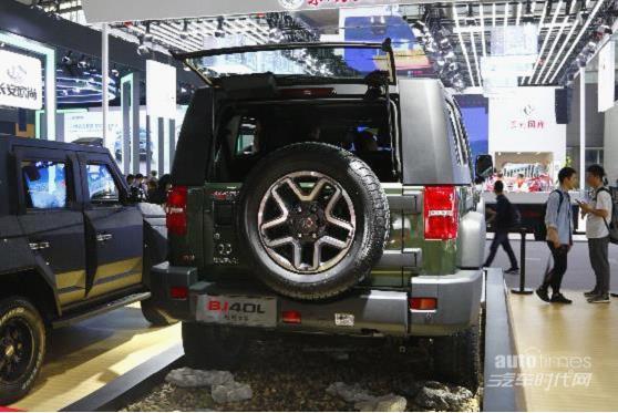 越野世家新成员入列 北京(BJ)40系列柴油版广州车展首秀