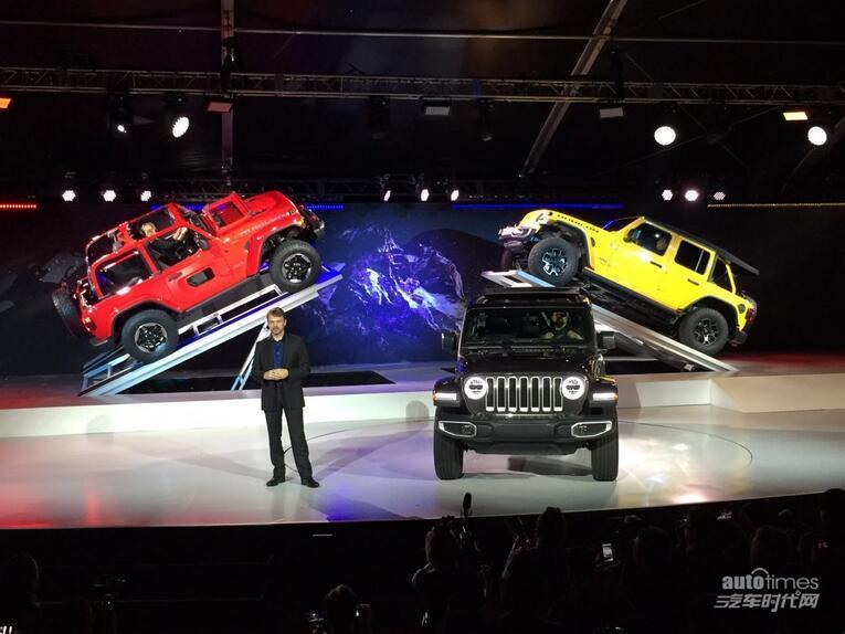 2017洛杉矶车展:Jeep全新牧马人首发