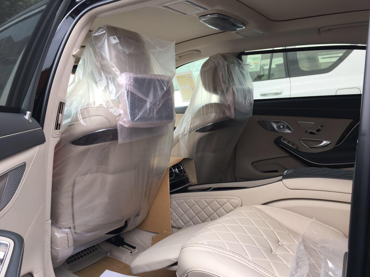 17款迈习近平习近平奔驰S600天津港平行进口现车诚信商家最新报价