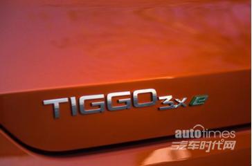 外观配置齐出色 实拍奇瑞新能源首款纯电动SUV瑞虎3xe