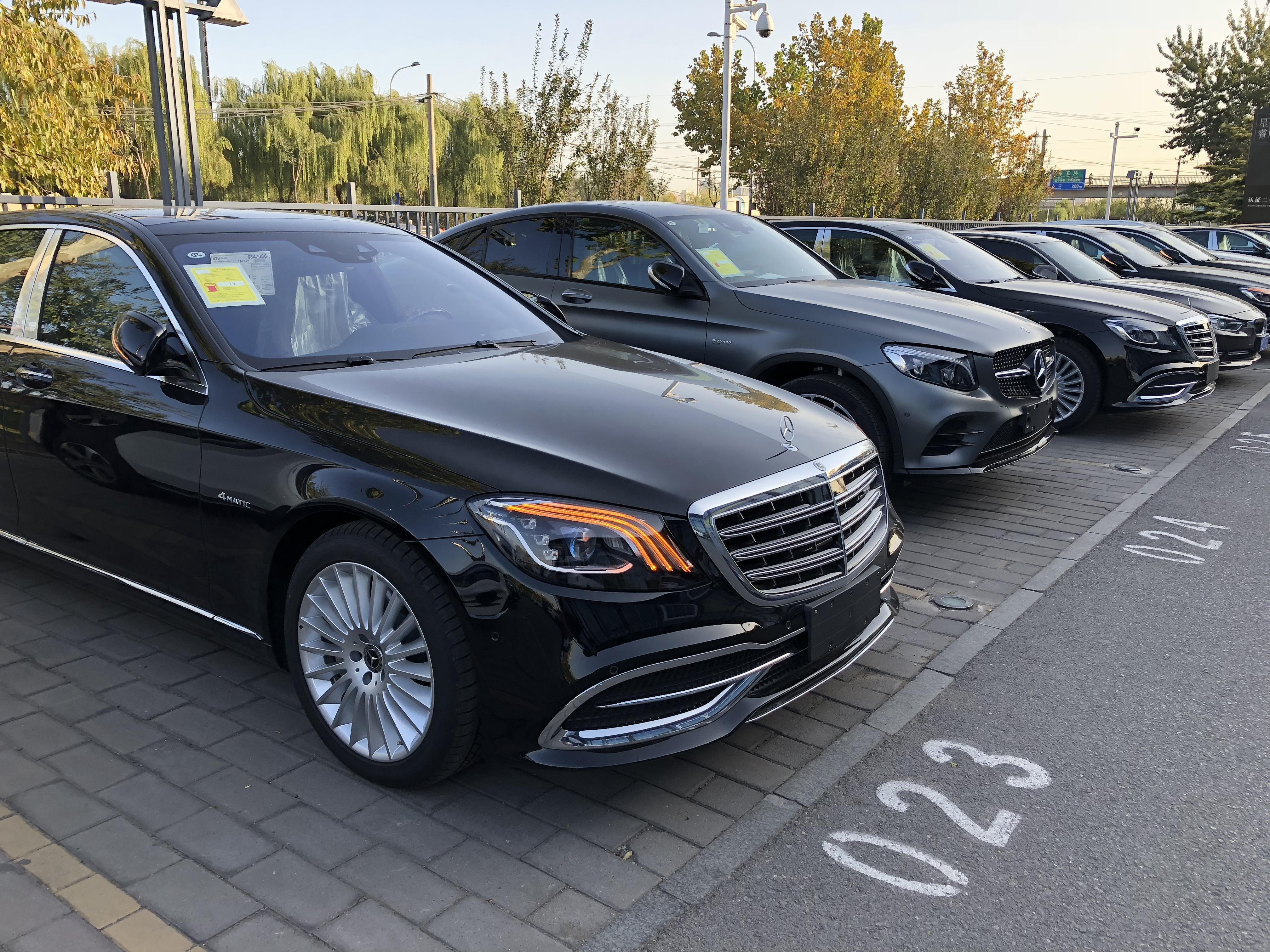 全新上市奔驰迈巴赫s级 s450 ,s560,s680现车