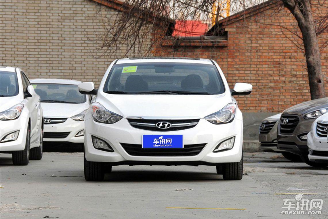 北京现代朗动最低价裸车北京售全国图片配置