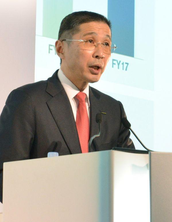 日产总裁:日产将重新审视同雷诺之间的资本关系