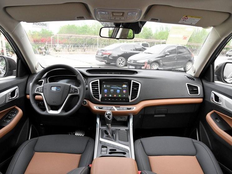 吉利汽车 远景SUV 2018款 1.4T CVT 4G互联旗舰型