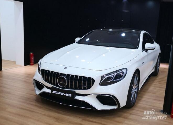 深港澳车展:AMG S 63轿跑车售234.78万