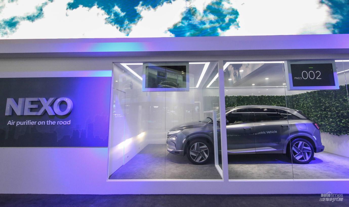氢能技术引领未来 NEXO亮相2018 CES ASIA