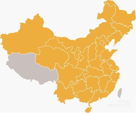 中国地图 3d模型