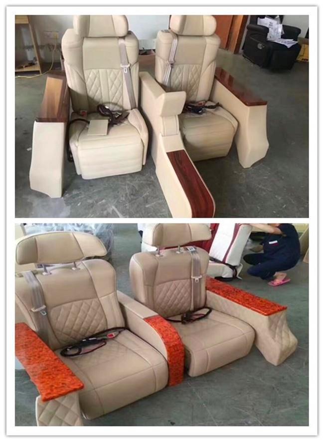 福特E350改装座椅 内饰翻新 汽车改装厂
