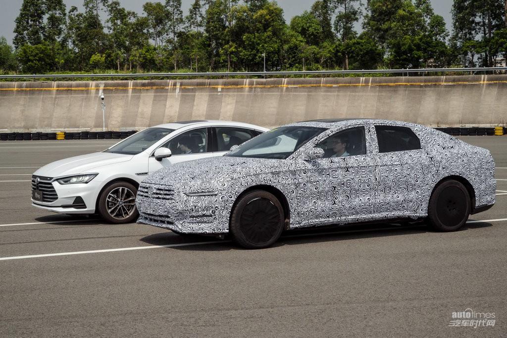 比亚迪新款中大型轿车要来了高伪装路测视频发布