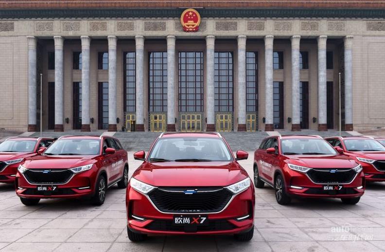 长安欧尚X7:自主SUV首销破万军团最红成员