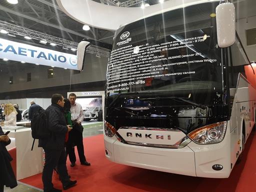 以高端制造向全球发力!安凯A9出征俄罗斯世界客车展【汽车时代网】