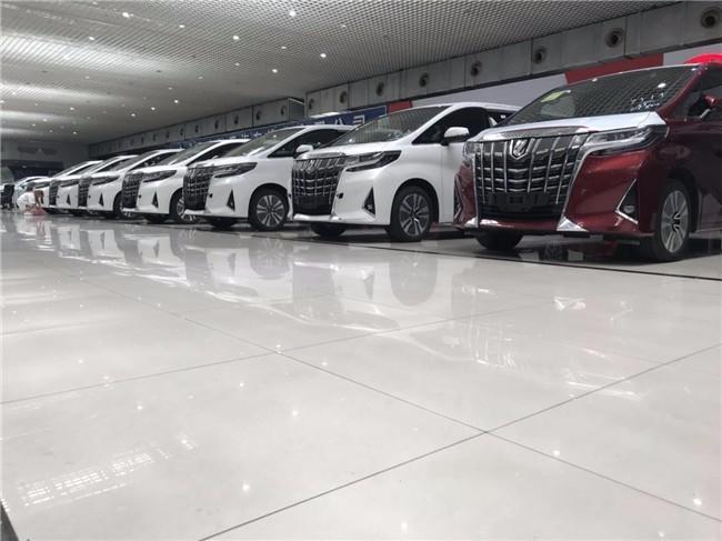 丰田埃尔法现车价格直降 埃尔法明星MPV掀翻低价