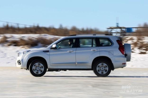 验证硬实力  硬派SUV哈弗H9冰雪试驾