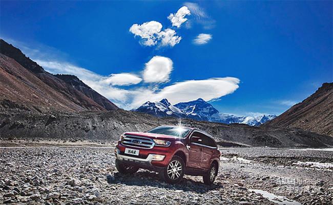 冬季出游 硬派SUV福特撼路者与你共赏冰雪世界