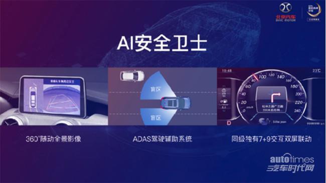 """广州车展新科技当道 绅宝智行AI技术成""""最佳"""""""