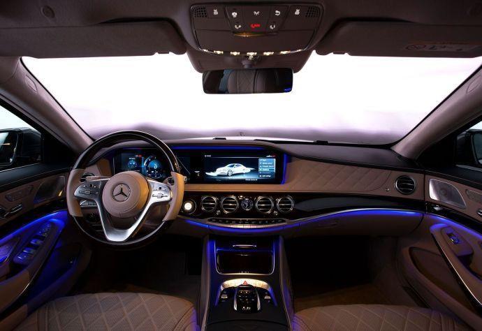 卓越的性能 2019款奔驰S350L尊贵豪华型